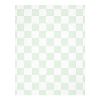 Sea Anemone Gingham Pattern Custom Flyer