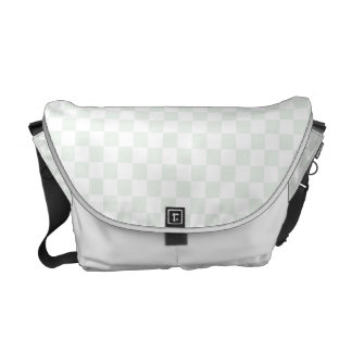 Sea Anemone Gingham Pattern Messenger Bag