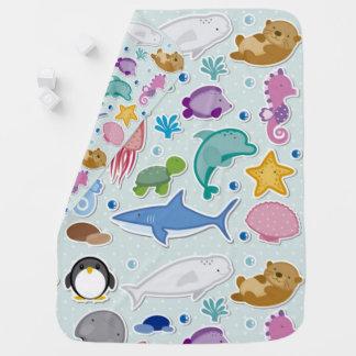 Sea Animals Buggy Blanket