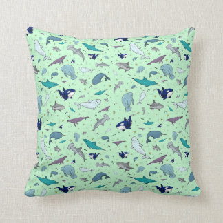 Sea Animals Cushion