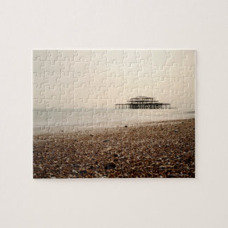 Sea at Brighton Beach Jigsaw Puzzle