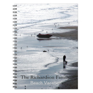 Sea at dusk - Personalized Vacation Photo Notebook