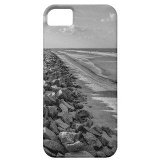 Sea Barrier Atlantic Ocean Georgia Black and White iPhone 5 Case