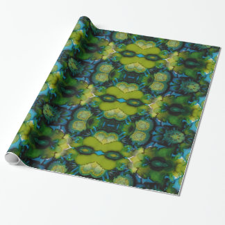 Sea Blooms Wrapping Paper