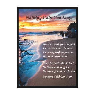 Sea Blue Canvas Print