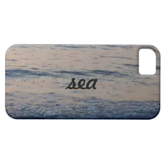 sea blue grey barely there iPhone 5 case