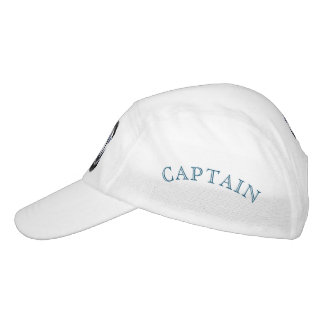 Sea captain sailor personalized hat