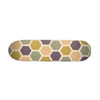 sea, charming, nyc, Bondi Blue , sensible, gray, v 21.6 Cm Old School Skateboard Deck