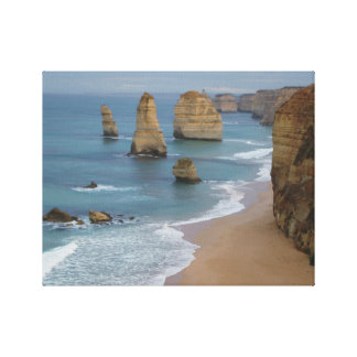 Sea Cliffs Photograph Canvas Print