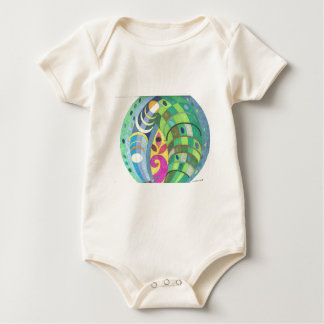 Sea Conch Baby Bodysuit