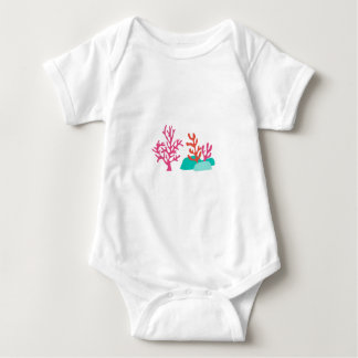 Sea Coral Baby Bodysuit