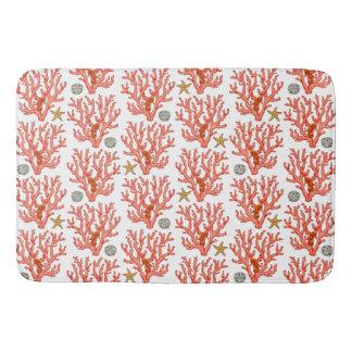 Sea coral bath mats