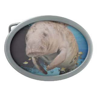 Sea Cow Swimming Belt Buckle