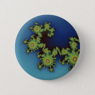 Sea Creature - Fractal Button