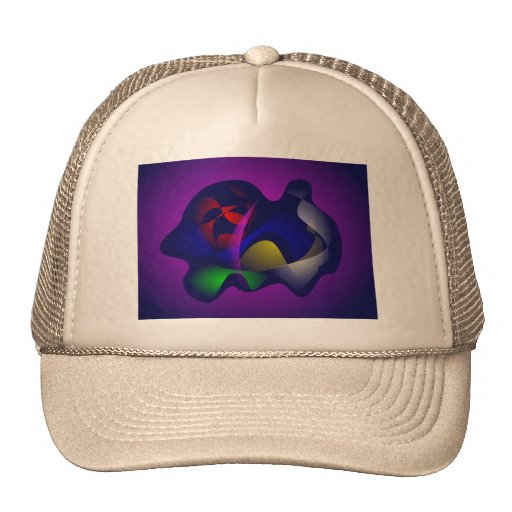 Sea Creature Mesh Hat