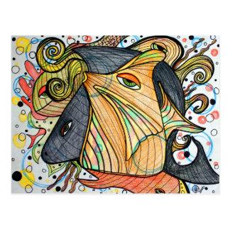 Sea Creatures Art Postcards