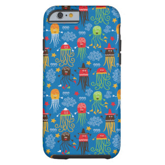 Sea creatures  - cute octopuses pattern tough iPhone 6 case