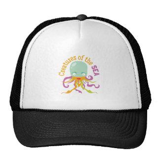 Sea Creatures Hats