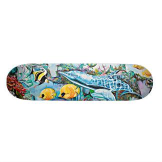 Sea Creatures Oceanic Skateboard