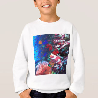 Sea depth in Christmas season Sweatshirt