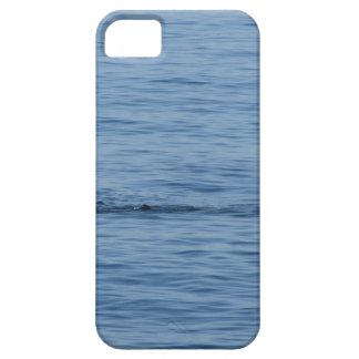 Sea diver in scuba suit swim in water barely there iPhone 5 case