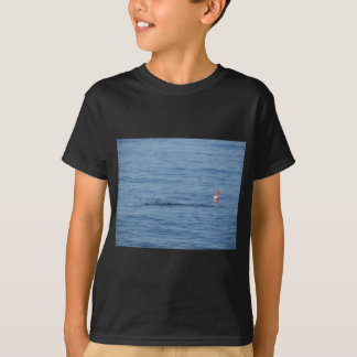 Sea diver in scuba suit swim in water T-Shirt