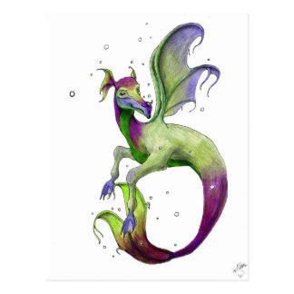 Sea Dragon by April Robbins Postcard