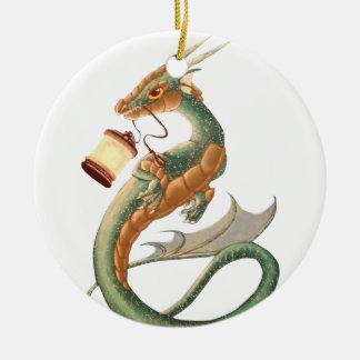 Sea Dragon Ceramic Ornament