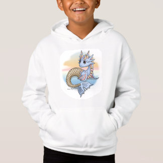 Sea Dragon Sunset Kid's Pullover Hoodie Sweatshirt