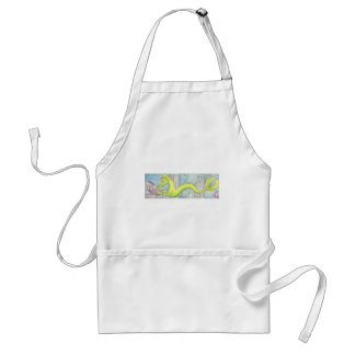 Sea Dragon Treasure Standard Apron
