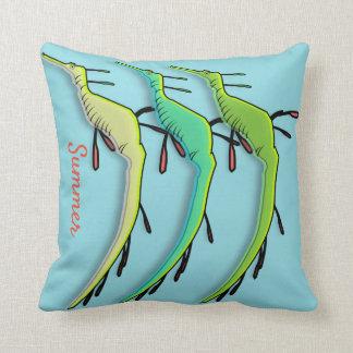 Sea Dragons Cushion