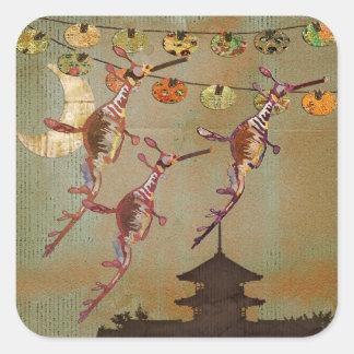 Sea Dragons Moonlight Journey  Sticker