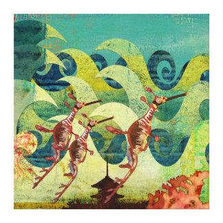 Sea Dragons Ocean Avenue Canvas