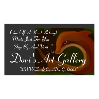 sea Expression, Dovi's Art Gallery , WWW.Zazzle... Business Card Template