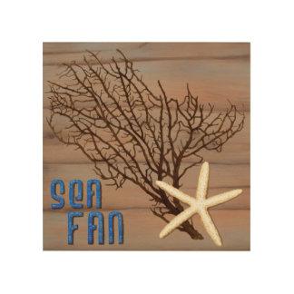Sea Fan Wood Wall Art