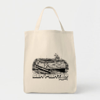 Sea Fighter Grocery Tote Grocery Tote Bag
