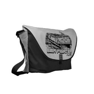Sea Fighter Outside Print Bag Courier Bag