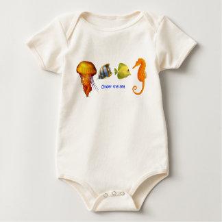 Sea Fish Baby Clothes Baby Bodysuit