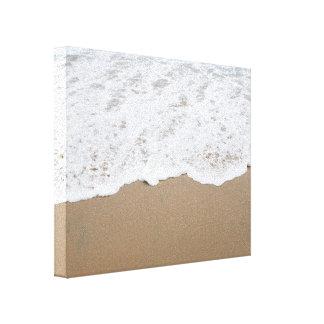 Sea foam, Ocean Waves Canvas Print