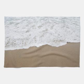 Sea foam, Ocean Waves Tea Towel