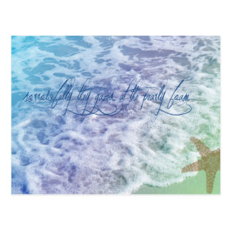 Sea Foam Postcard