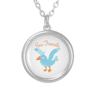 Sea Friends Personalized Necklace