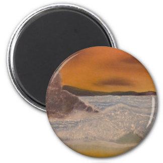 Sea Fury 6 Cm Round Magnet