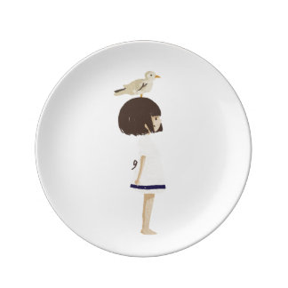 Sea girl 2 plate