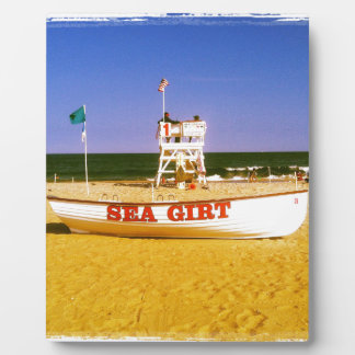 Sea Girt Lifeguard Boat Plaques