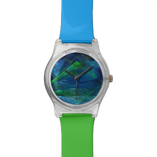 Sea Glass 3D Abstract Wrist Watch
