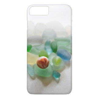 Sea glass, beach marble iPhone 7 plus case