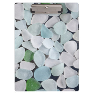 Sea Glass Clipboard