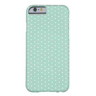 Sea Glass Green Polka Dot iPhone 6 Barely There iPhone 6 Case