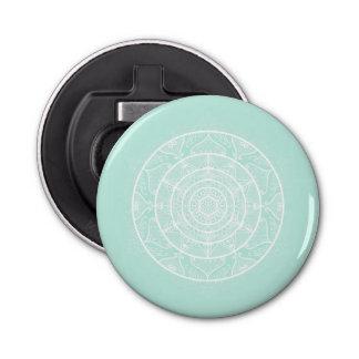 Sea Glass Mandala Bottle Opener